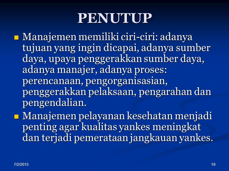 PENUTUP