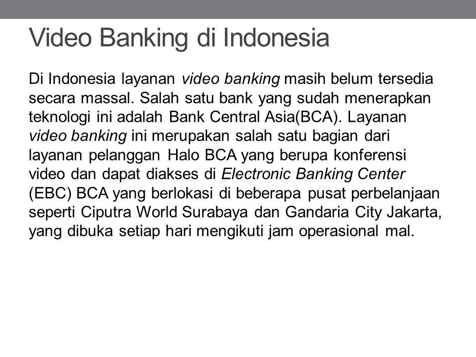 Video Banking di Indonesia