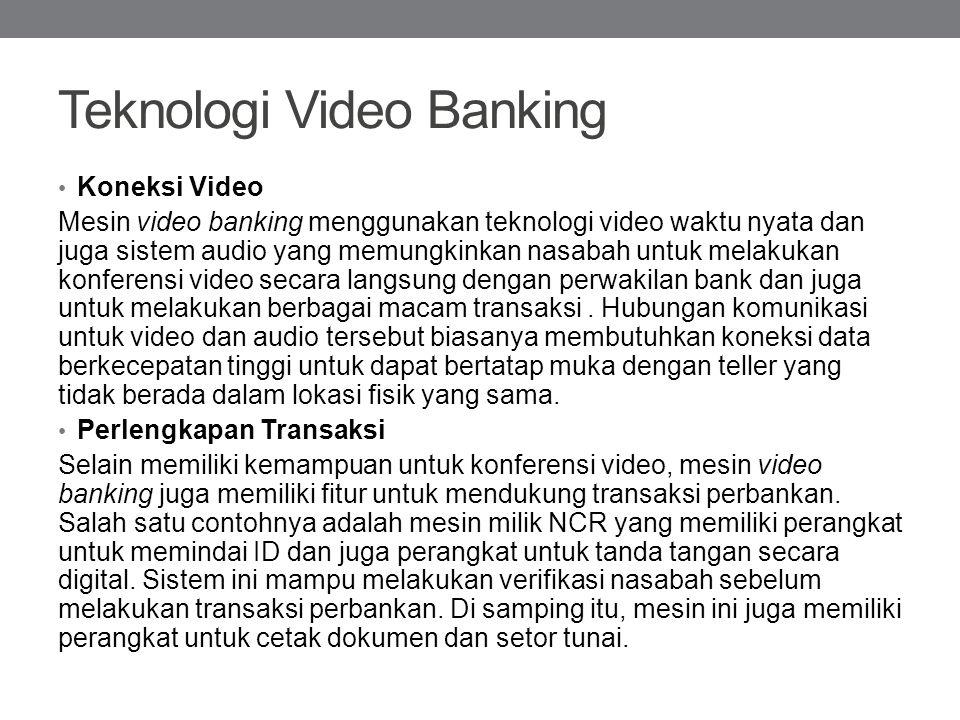 Teknologi Video Banking