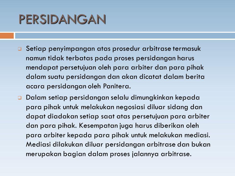 PERSIDANGAN