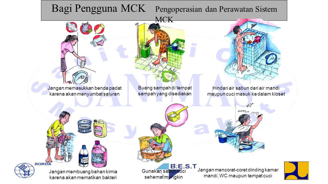 Bagi Pengguna MCK Pengoperasian dan Perawatan Sistem MCK