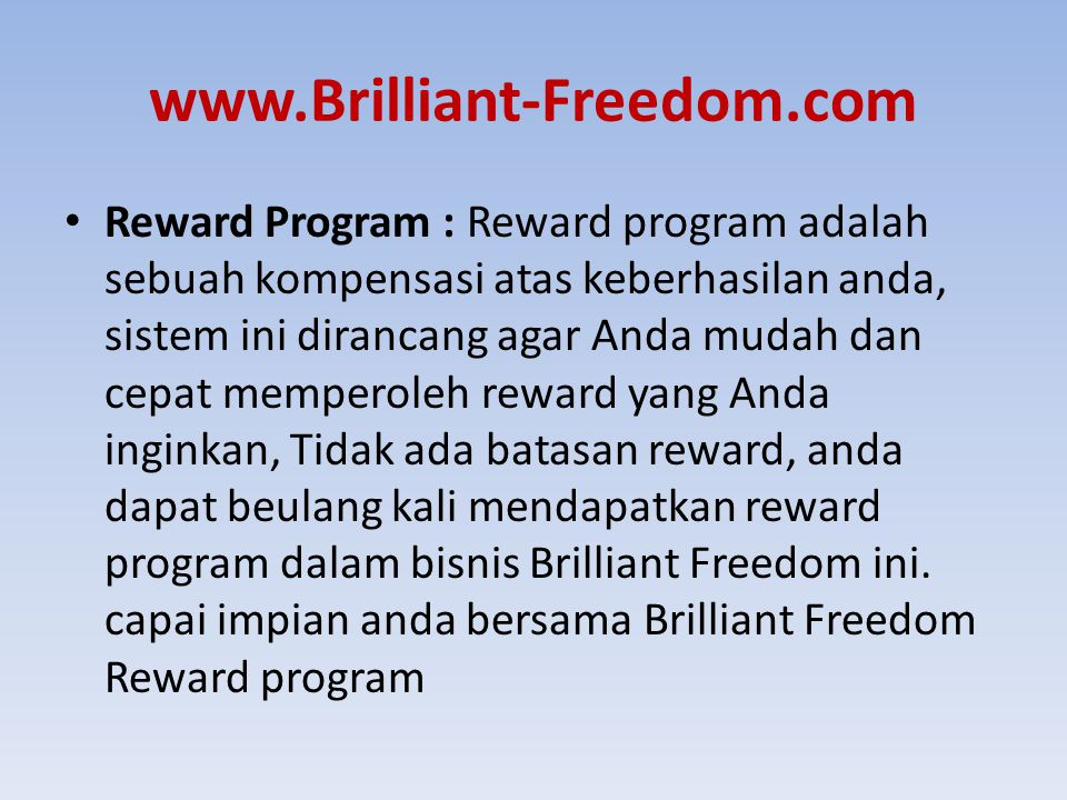 www.Brilliant-Freedom.com
