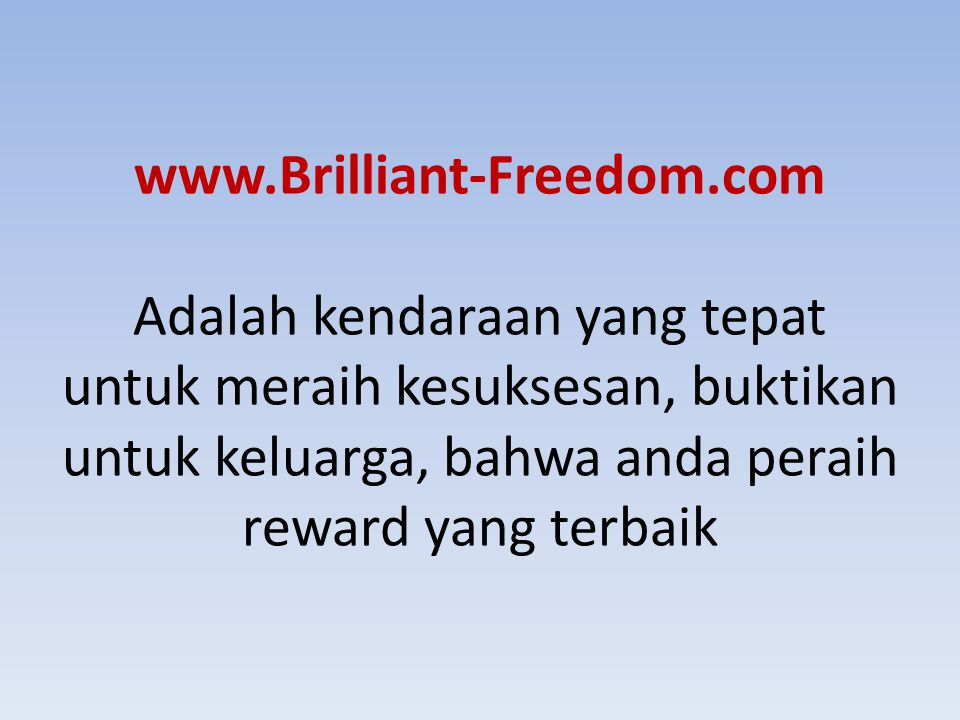 www. Brilliant-Freedom