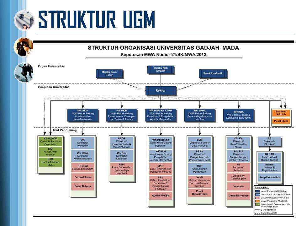 STRUKTUR UGM