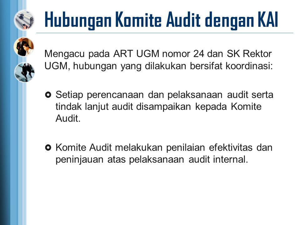 Hubungan Komite Audit dengan KAI
