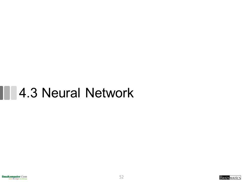 4.3 Neural Network