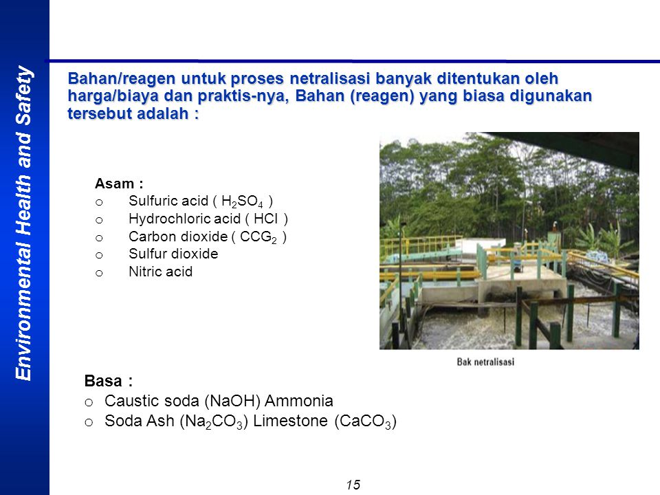 Caustic soda (NaOH) Ammonia Soda Ash (Na2CO3) Limestone (CaCO3)