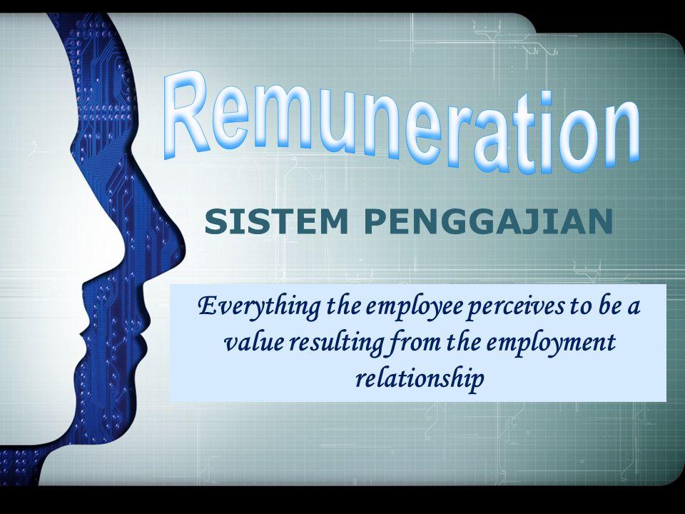 Remuneration SISTEM PENGGAJIAN