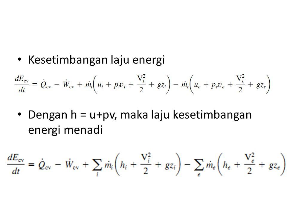 Kesetimbangan laju energi