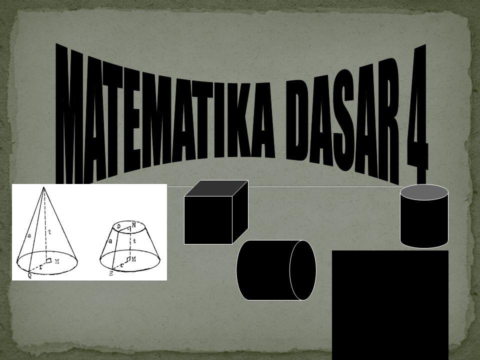 MATEMATIKA DASAR 4
