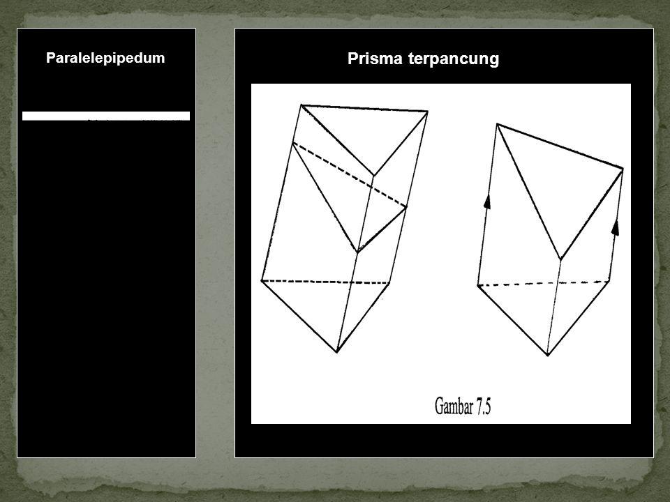 Paralelepipedum Prisma terpancung
