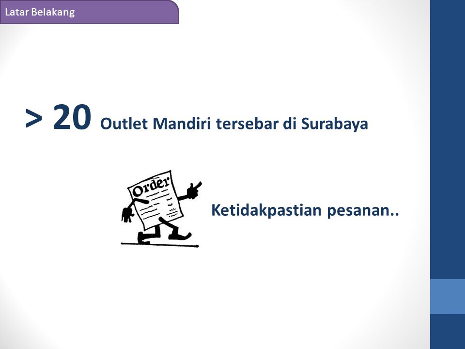 > 20 Outlet Mandiri tersebar di Surabaya