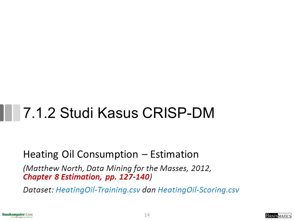 7.1.2 Studi Kasus CRISP-DM Heating Oil Consumption – Estimation
