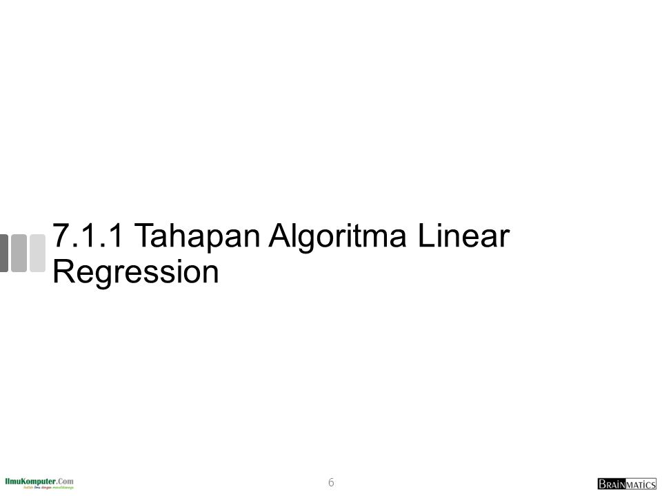 7.1.1 Tahapan Algoritma Linear Regression