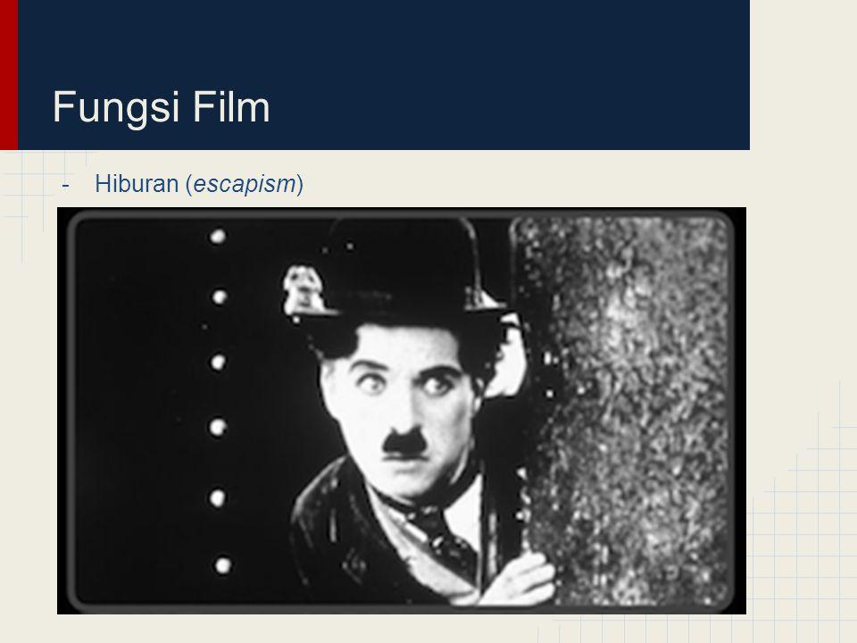 Fungsi Film Hiburan (escapism)