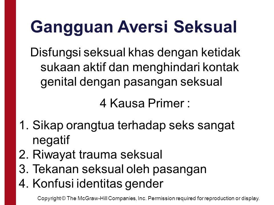 Gangguan Aversi Seksual