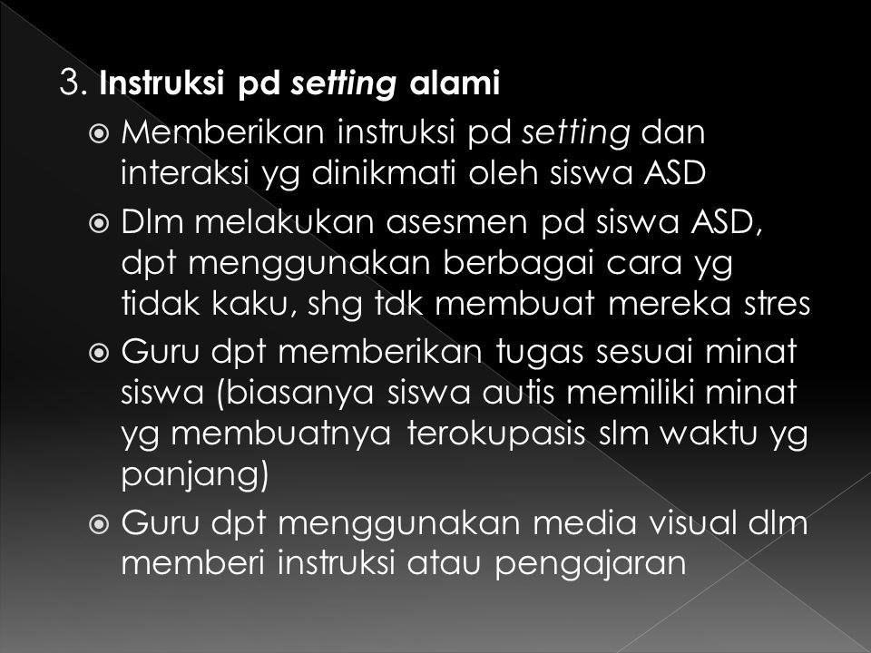 3. Instruksi pd setting alami
