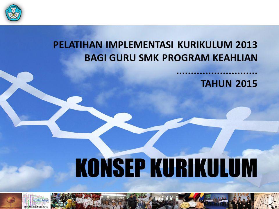 KONSEP KURIKULUM PELATIHAN IMPLEMENTASI KURIKULUM 2013