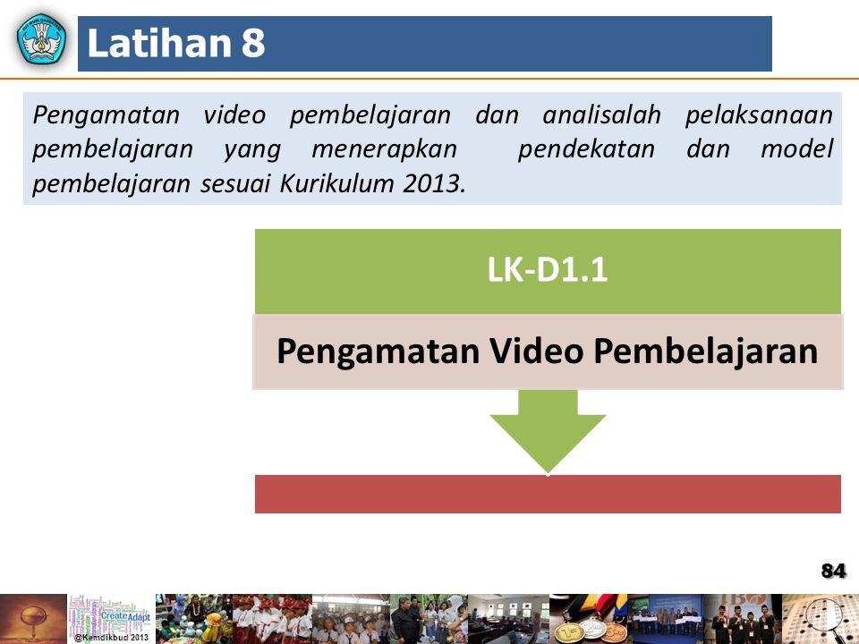 Pengamatan Video Pembelajaran