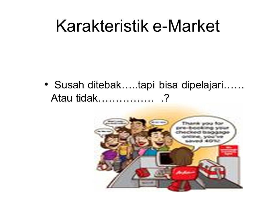 Karakteristik e-Market