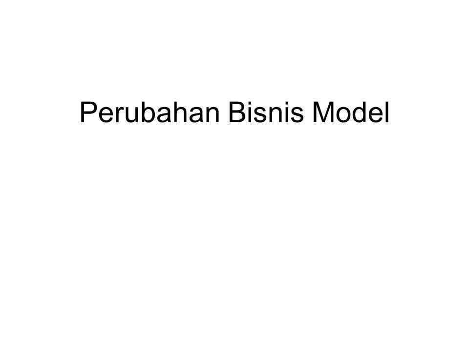 Perubahan Bisnis Model