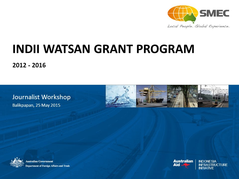 INDII WATSAN GRANT PROGRAM