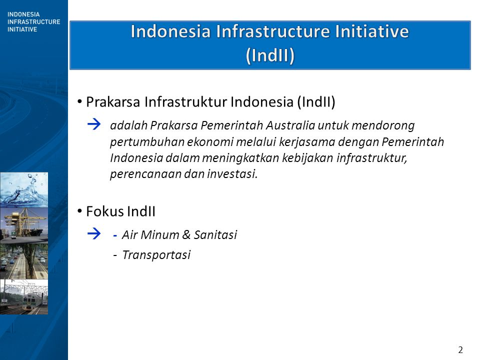Indonesia Infrastructure Initiative