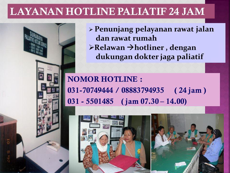 LAYANAN HOTLINE PALIATIF 24 JAM
