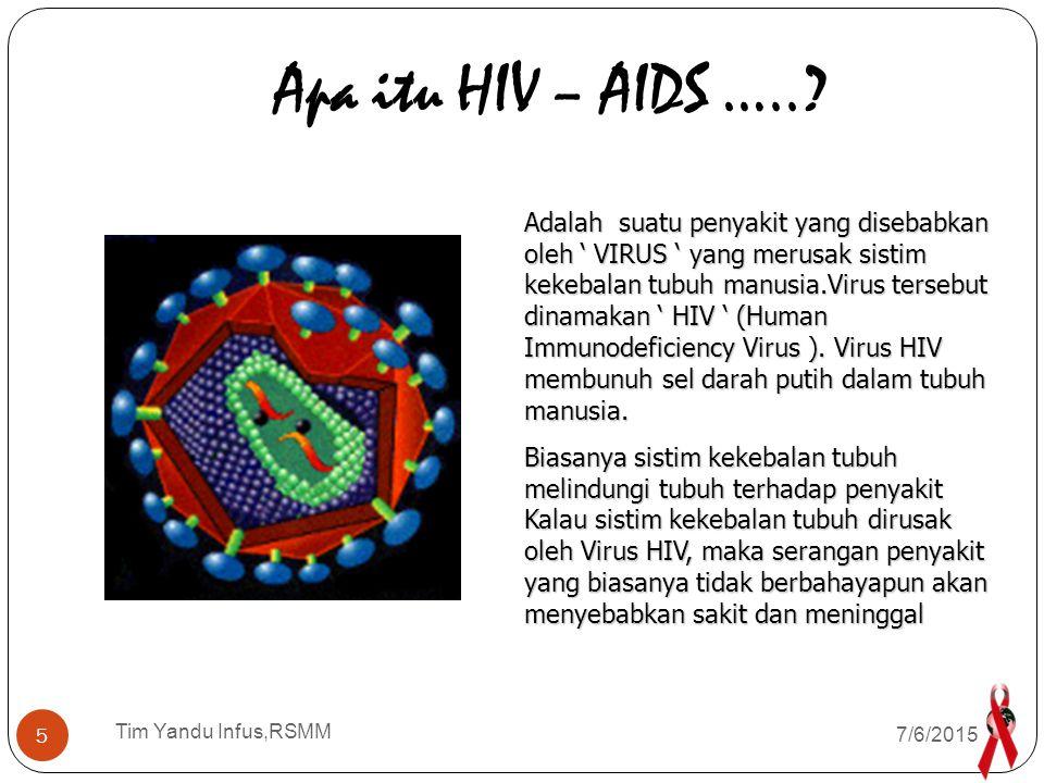 Apa itu HIV – AIDS …..
