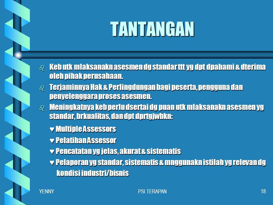 TANTANGAN ♥ Multiple Assessors
