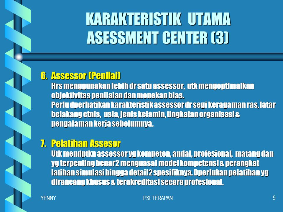 KARAKTERISTIK UTAMA ASESSMENT CENTER (3)