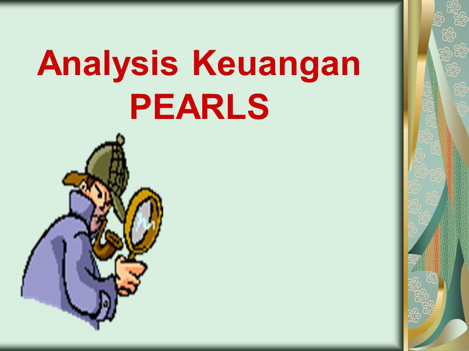 Analysis Keuangan PEARLS