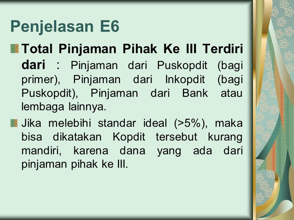 Penjelasan E6