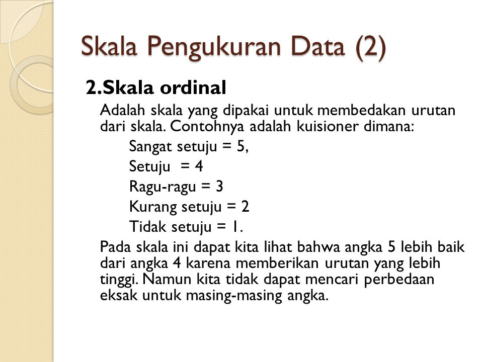 Skala Pengukuran Data (2)