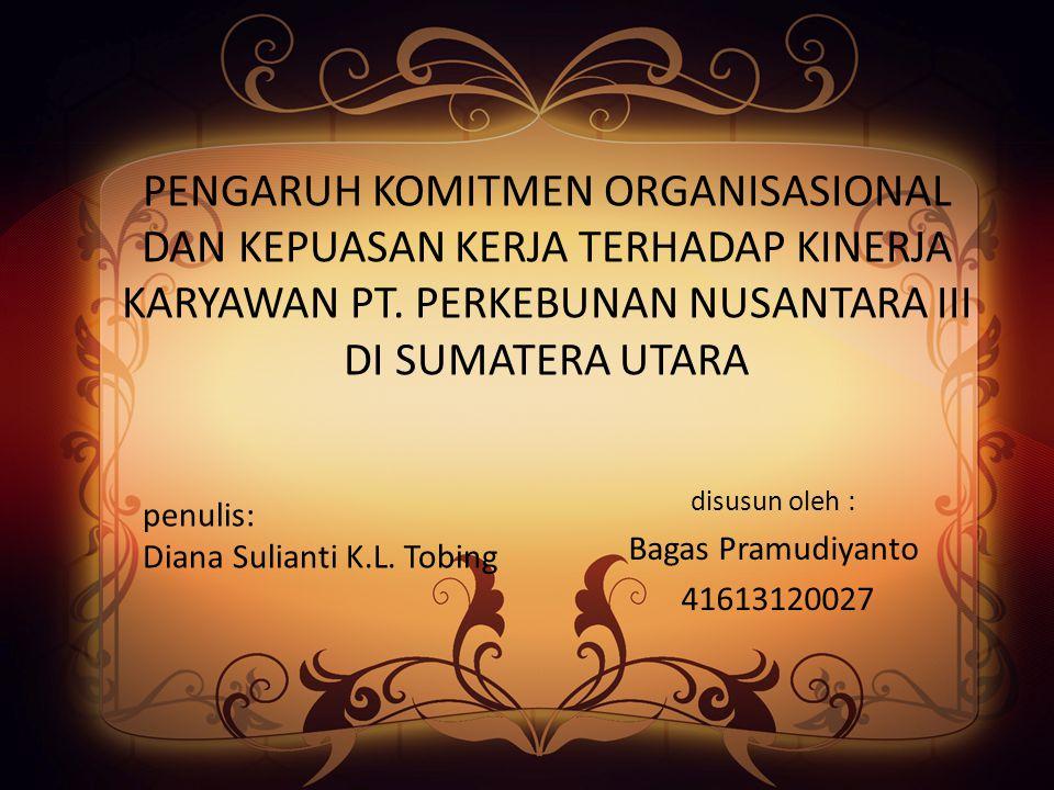 disusun oleh : Bagas Pramudiyanto 41613120027