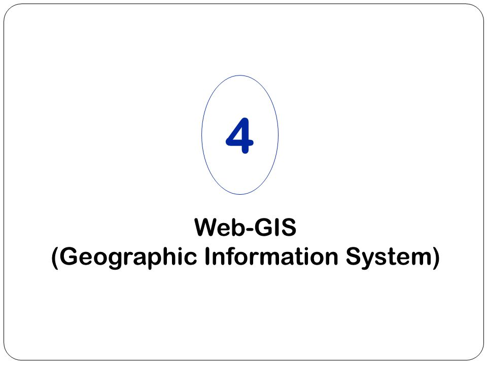 Web-GIS (Geographic Information System)