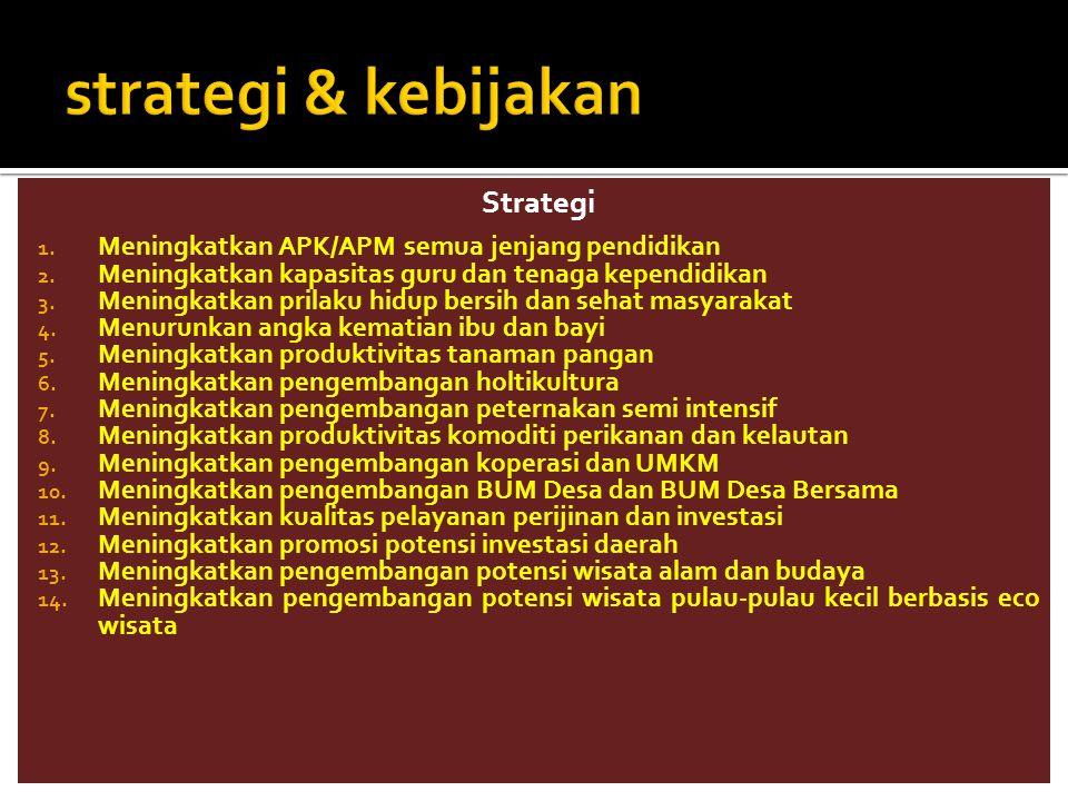 strategi & kebijakan Strategi