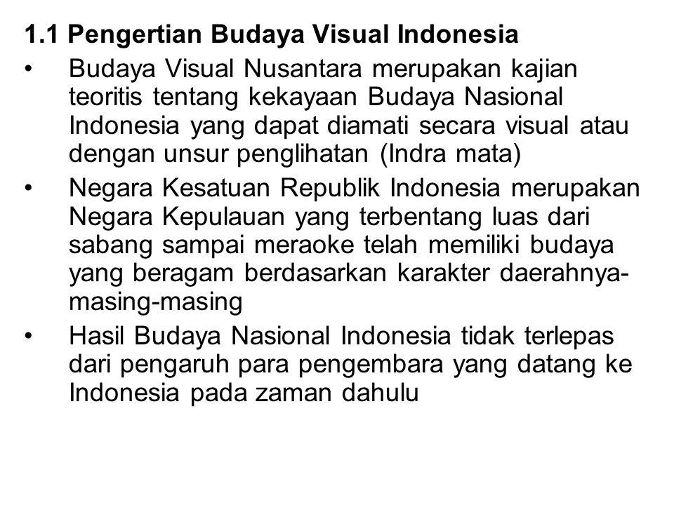 1.1 Pengertian Budaya Visual Indonesia