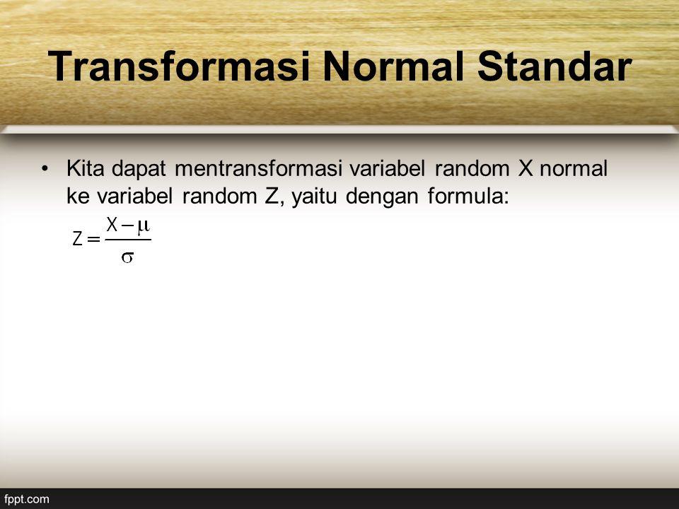 Transformasi Normal Standar