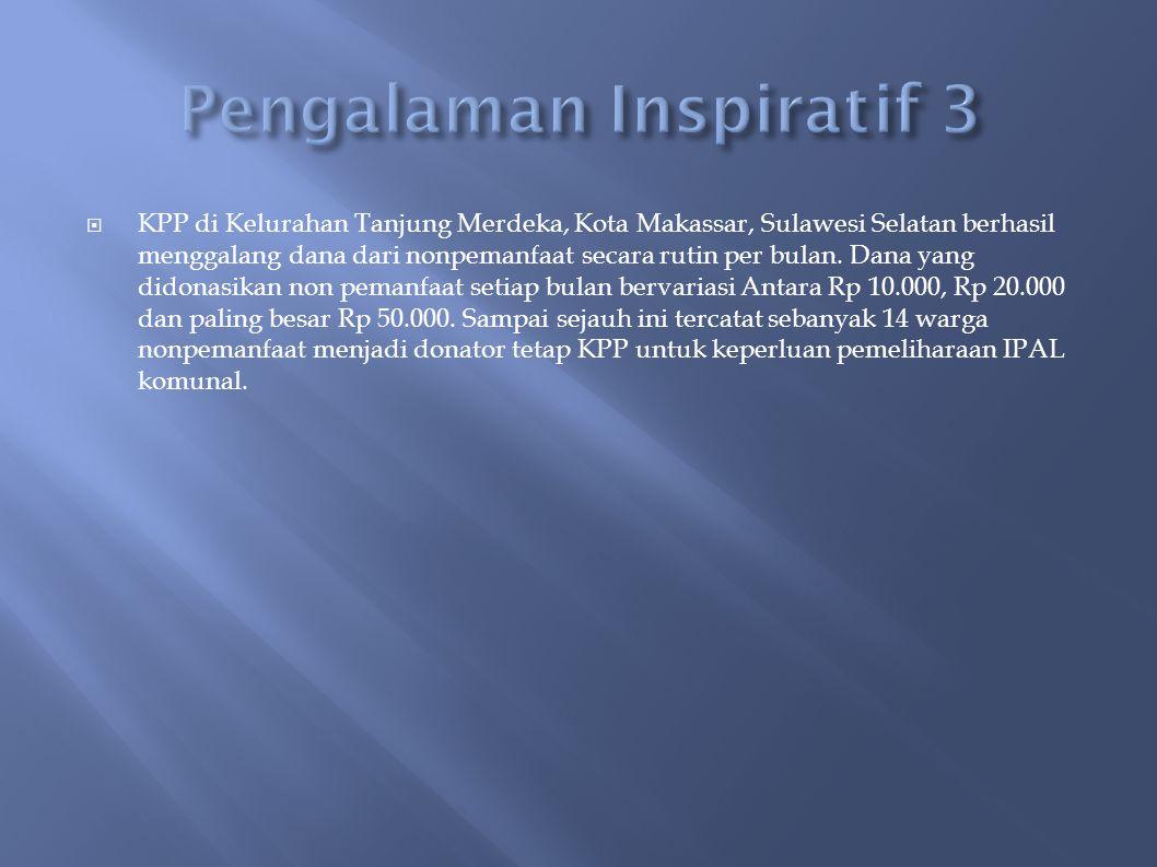 Pengalaman Inspiratif 3