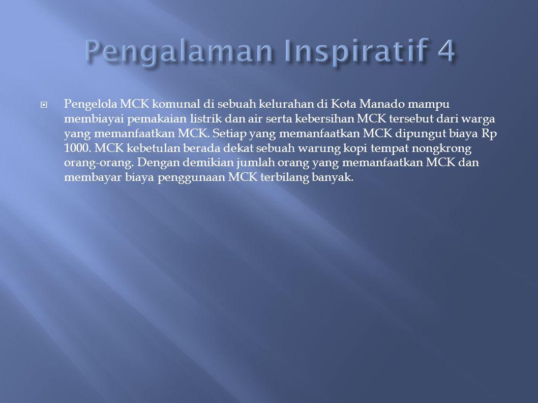 Pengalaman Inspiratif 4