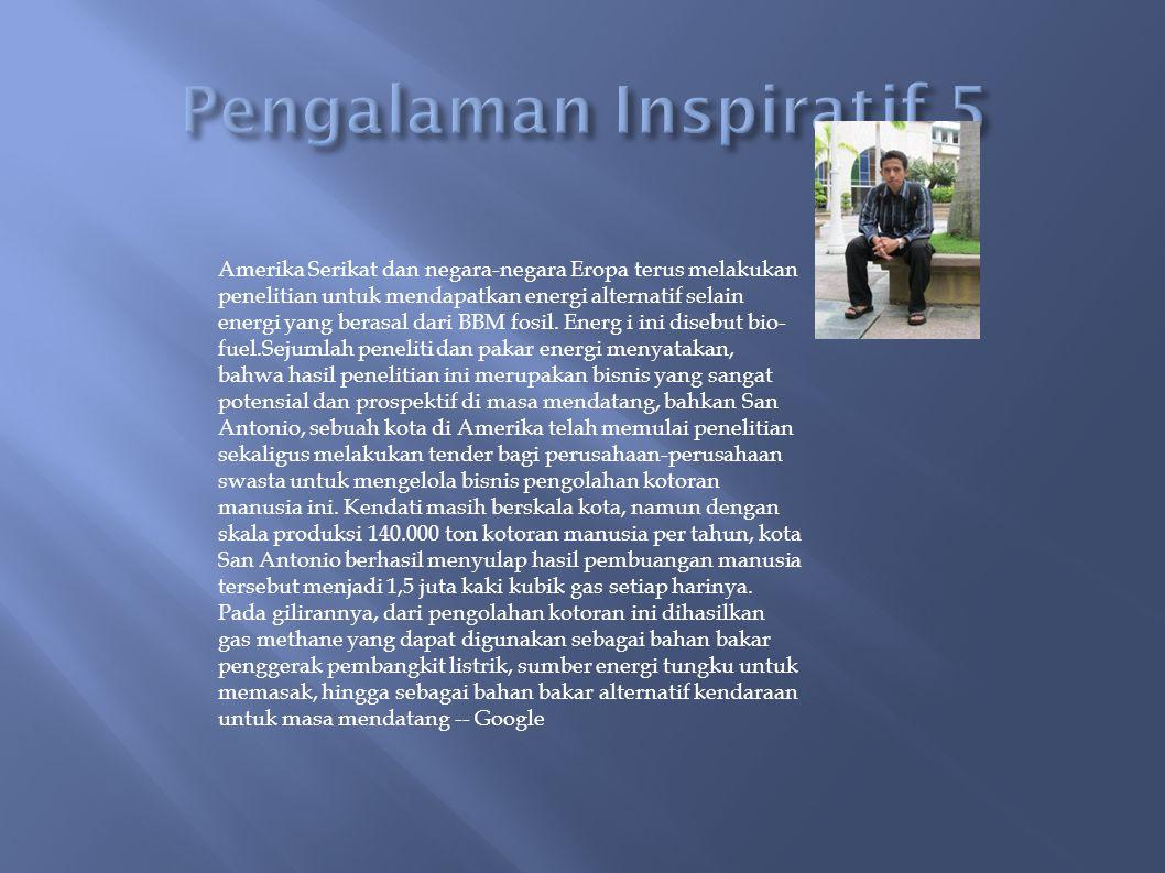 Pengalaman Inspiratif 5