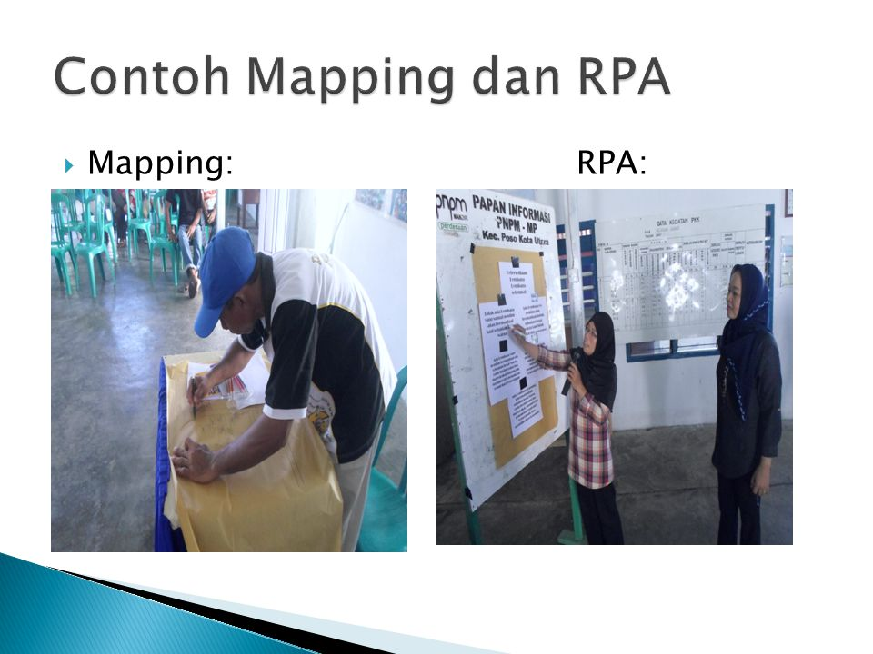 Contoh Mapping dan RPA Mapping: RPA: