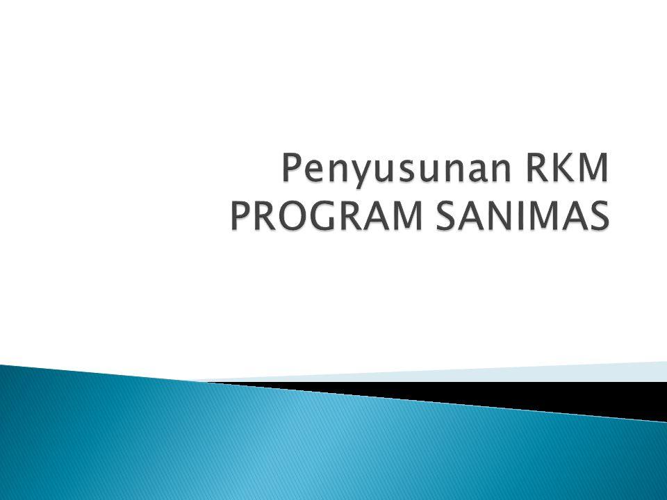 Penyusunan RKM PROGRAM SANIMAS