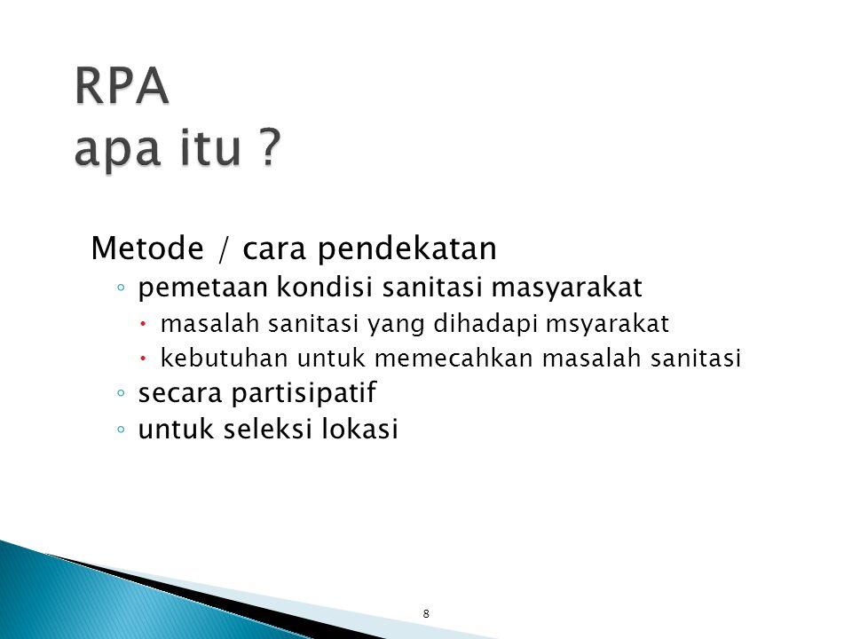 RPA apa itu Metode / cara pendekatan