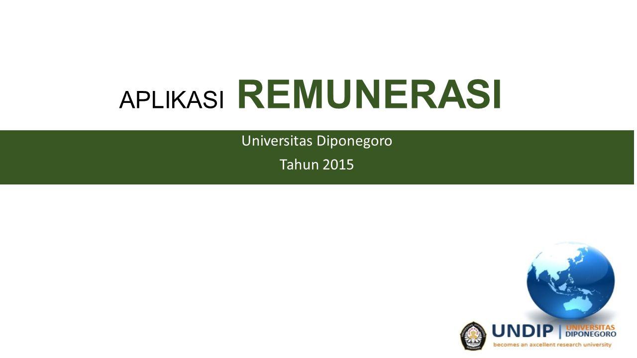 Universitas Diponegoro Tahun 2015