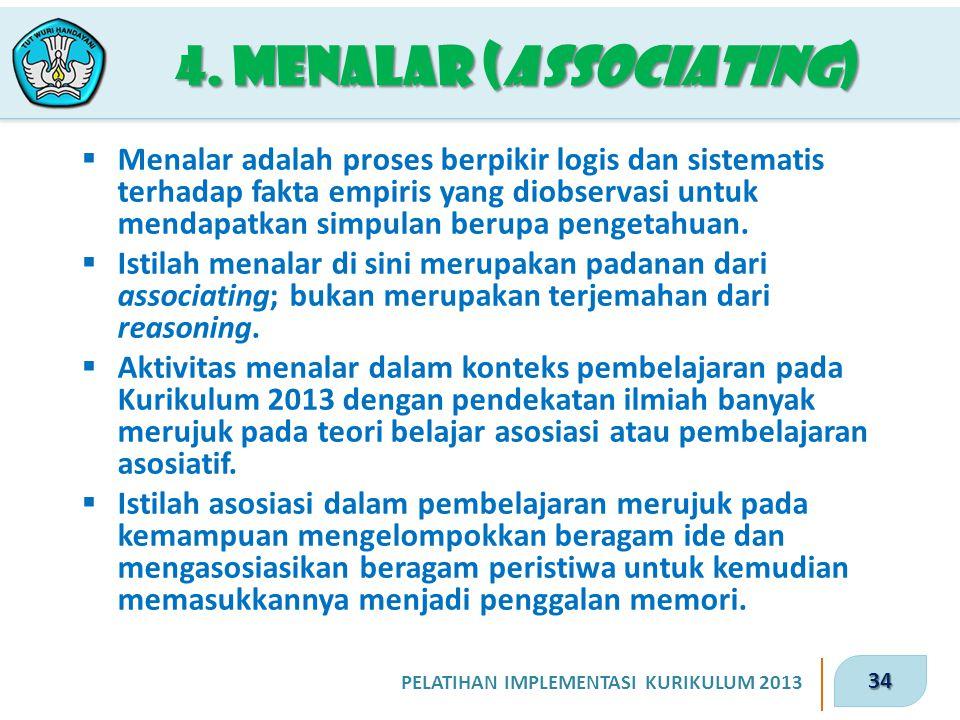 4. Menalar (associating)