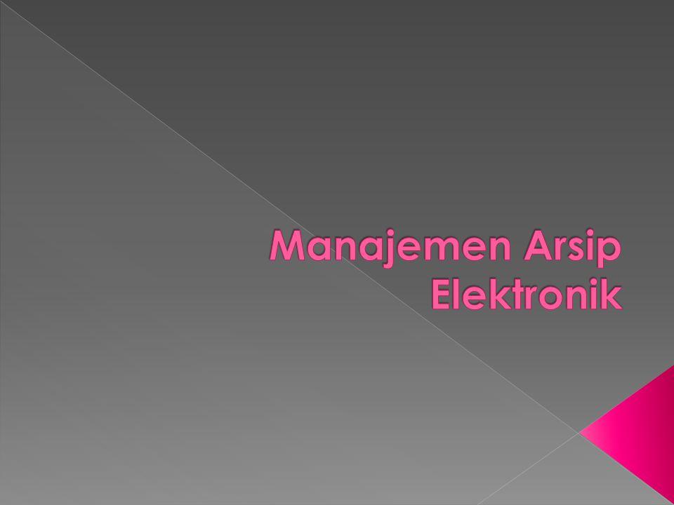 Manajemen Arsip Elektronik