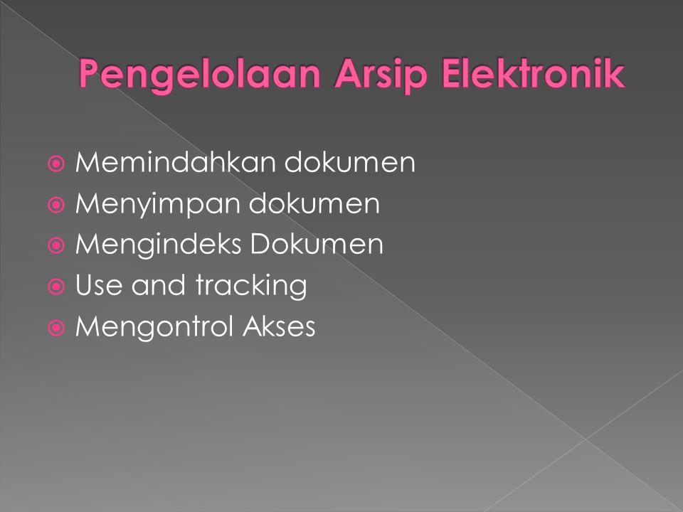 Pengelolaan Arsip Elektronik