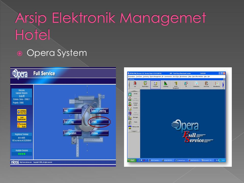 Arsip Elektronik Managemet Hotel